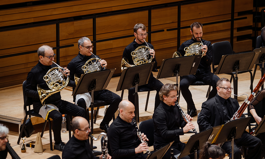 The horn section of the Orchestre Métropolitain